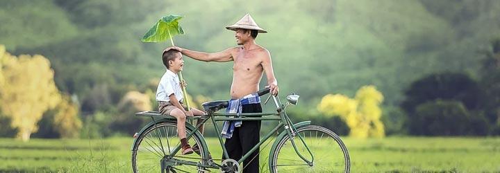 Langste fietspad Thailand fietsvakantie