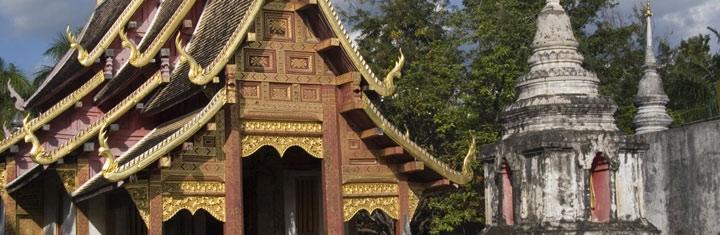 Beste reistijd Noord-Thailand