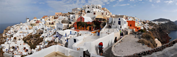 Beste reistijd Santorini