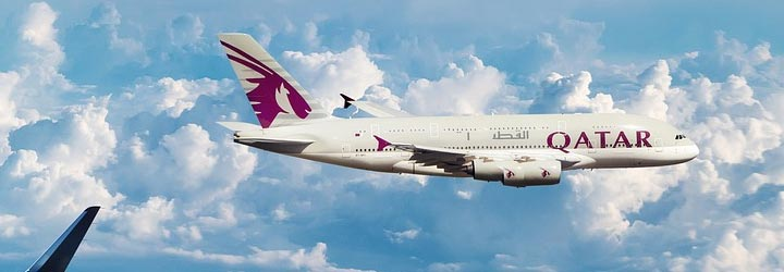 Qatar Airways recordvlucht