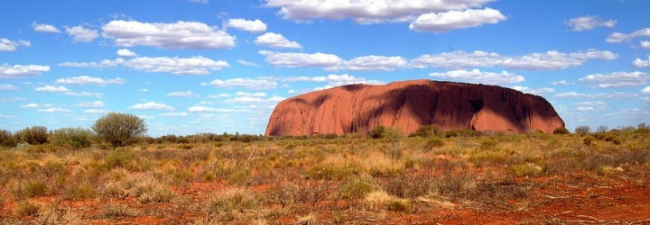 Ayers Rock Outback Australië