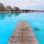 Grootste zwembad ter wereld Chili kilometer lang