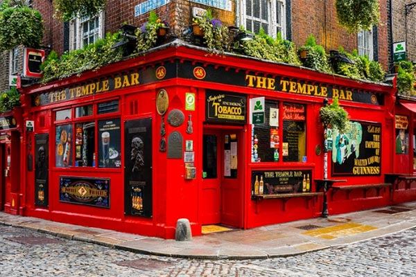 Top 10 bezienswaardigheden Temple Bar