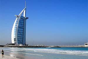Winterzon januari Dubai