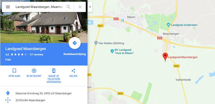 Locatie Heel Holland Bakt op Google Maps
