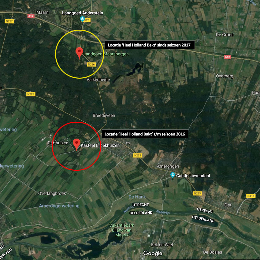 Locatie Heel Holland Bakt opnames